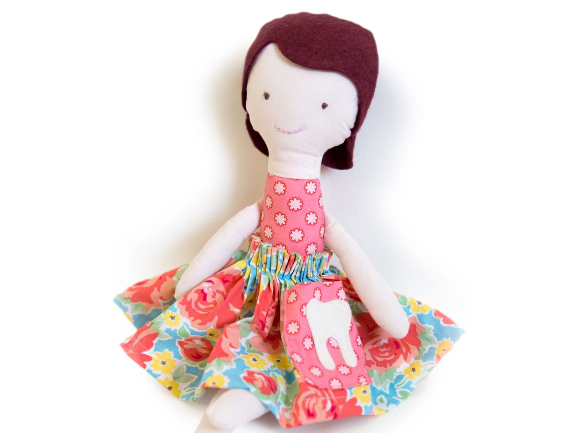 Tooth Fairy Doll Sewing Pattern