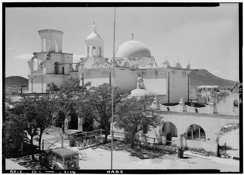 San Xavier del Bac Mission in Tucson, AZ