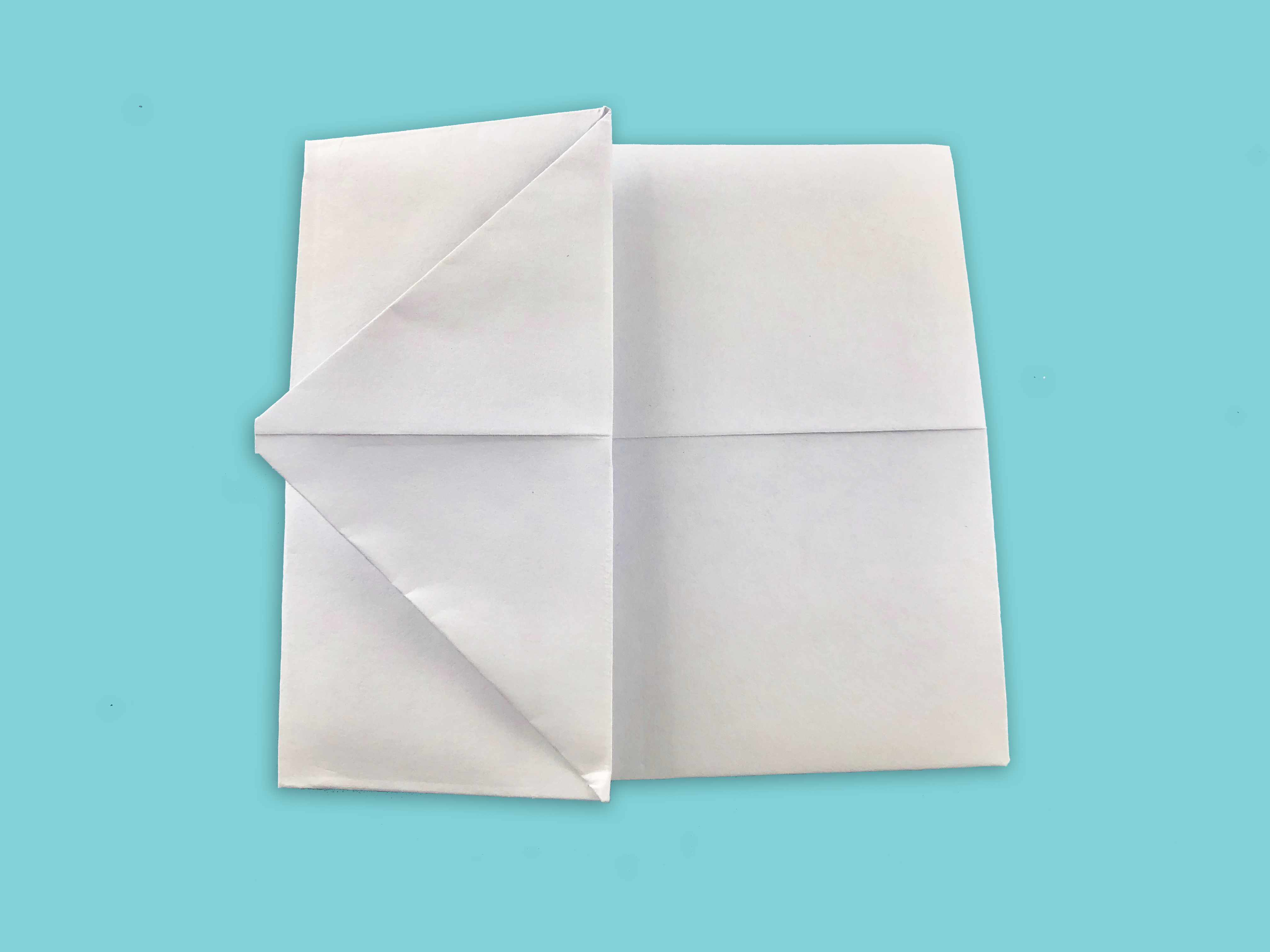 How to Fold a Clever Pull Tab Note With Paper