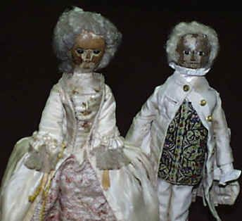 Early 1800s Wood Dolls