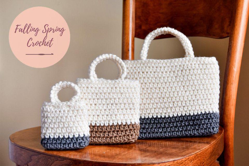 crochet gift bag pattern