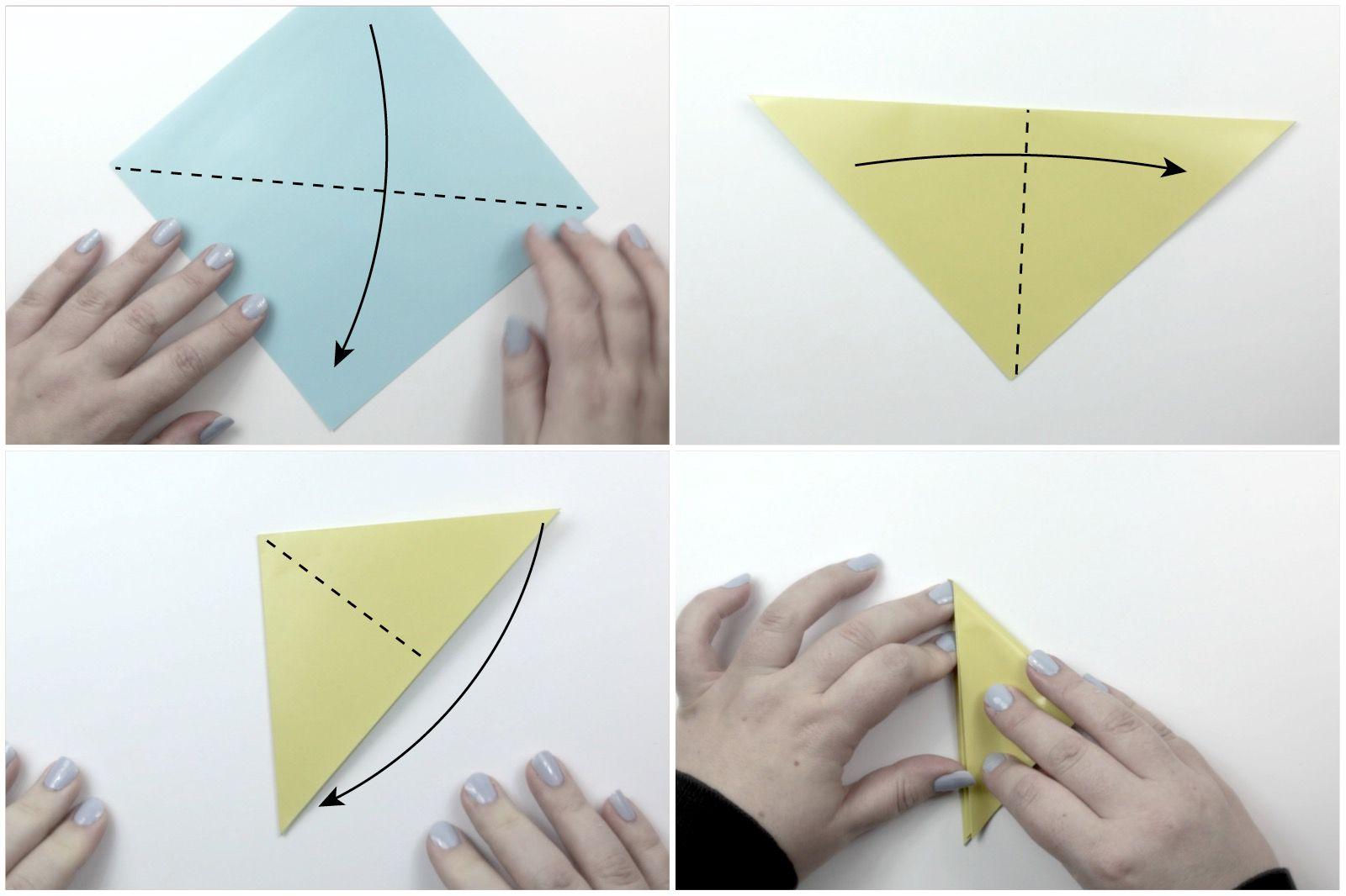 easy origami star tutorial 02