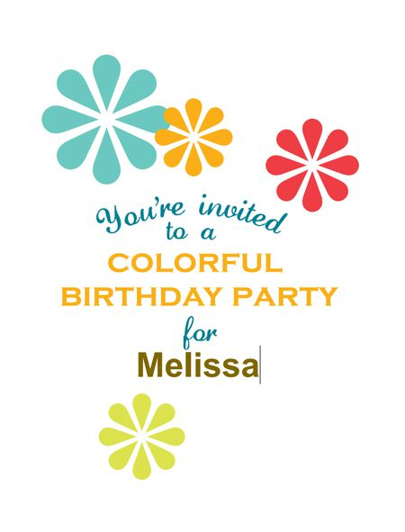 17 free printable birthday invitation templates a colorful birthday invitation template being customized stopboris Image collections