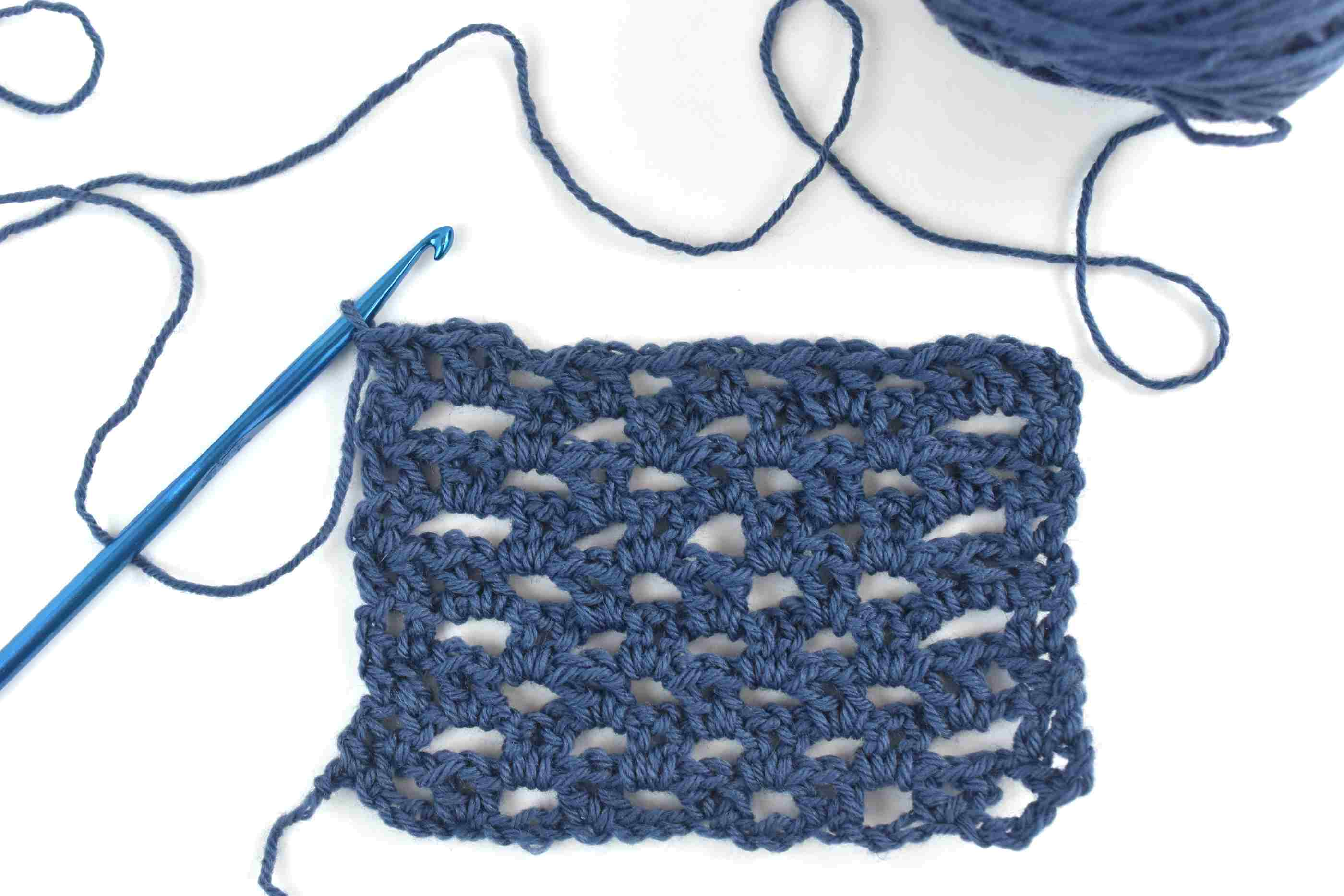 V-Stitch With a Brick Repeat