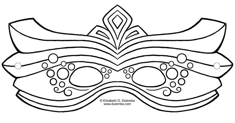 It is a graphic of Gorgeous Mask Templates for Adults
