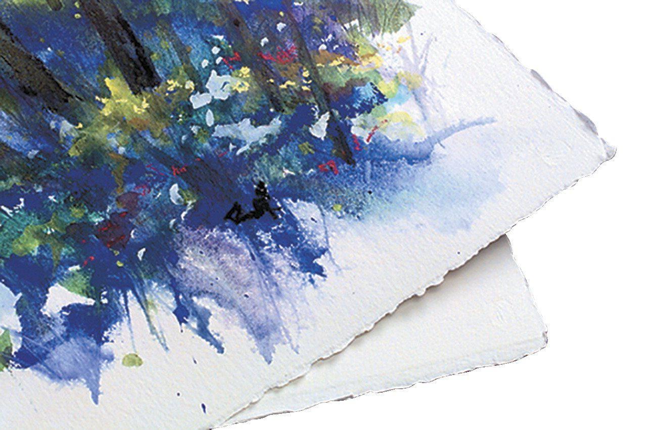 Deckle Edges on Watercolor Paper