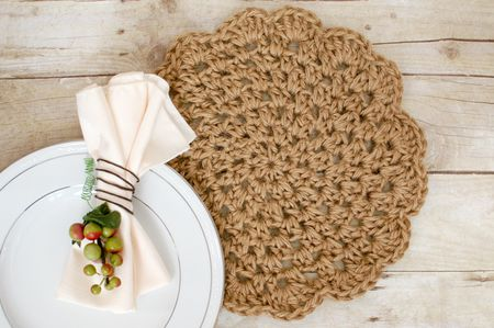 10 Free Crochet Placemat Patterns