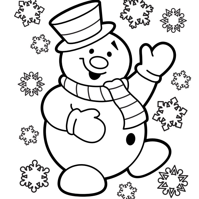 Free Printable Christmas Coloring Pages For Kidsrhthesprucecrafts: Colouring Pages For Christmas At Baymontmadison.com