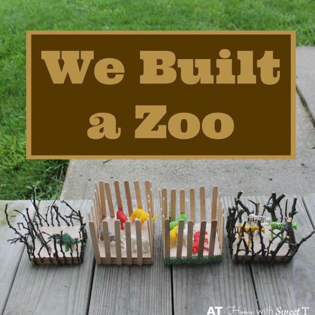 DIY zoo craft