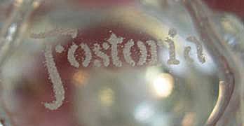 Fostoria Glass Company Mark