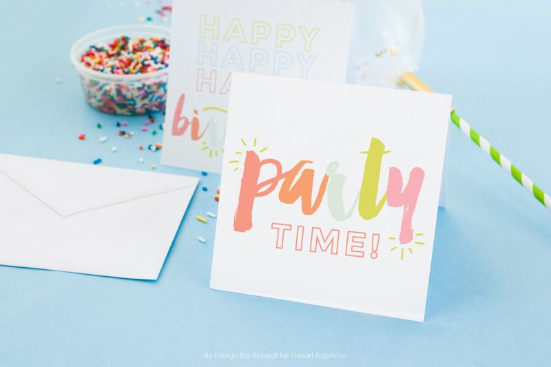 Free Birthday Cards From I Heart Naptime