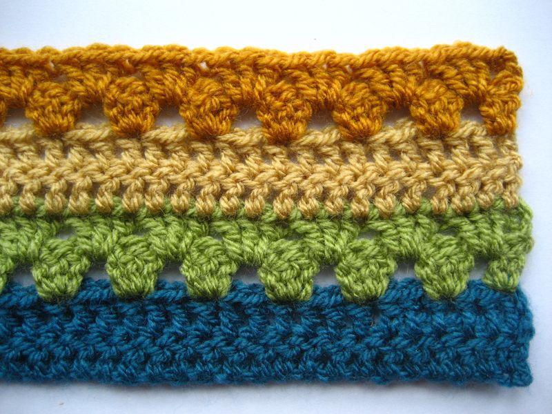 Striped Crochet Afghan Pattern