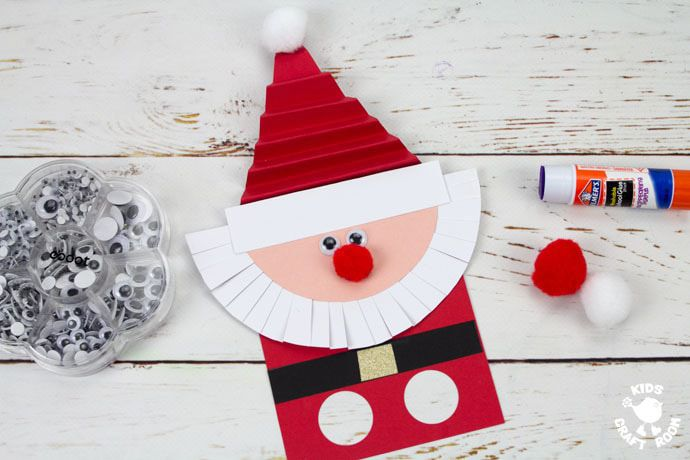 15 Santa Crafts for Kids