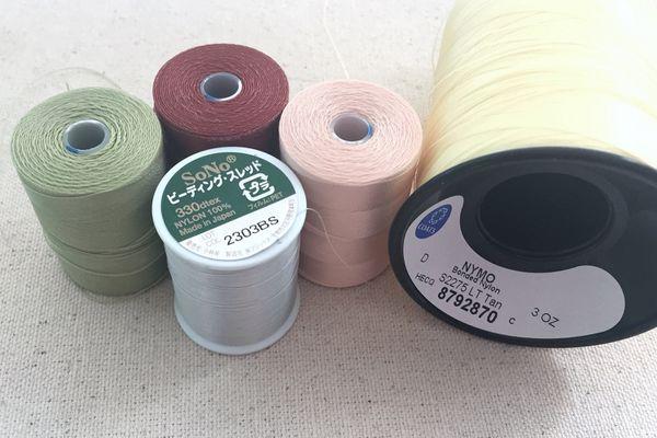 Assortment of Nylon Thread