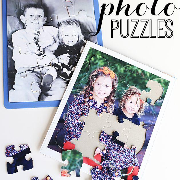 diy photo puzzles