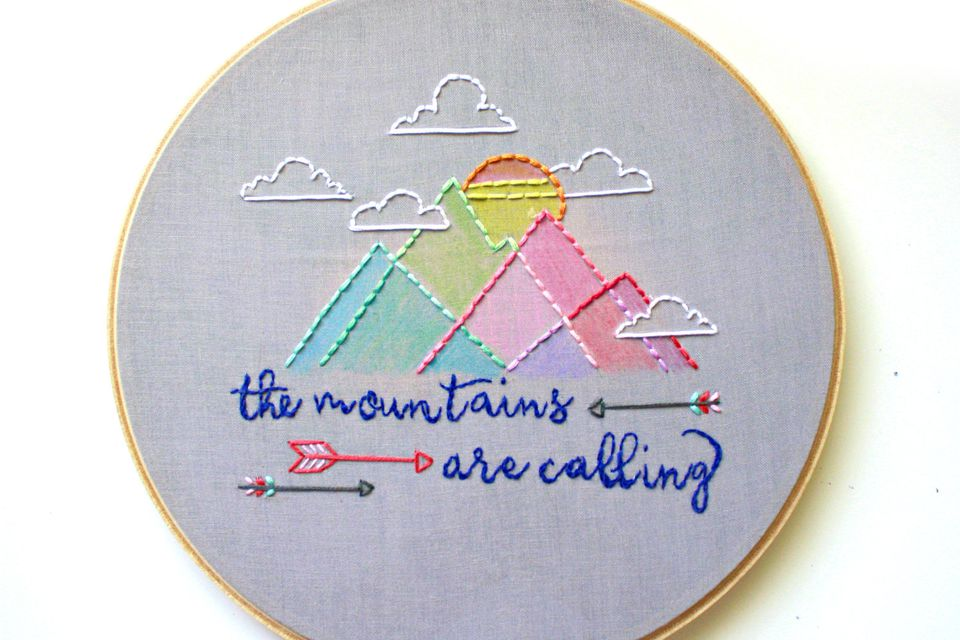 """The Mountains Are Calling"" Pattern"