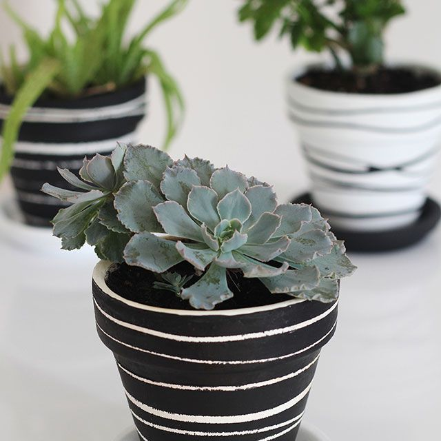 Painted Flower Pots You Can Create For Your Garden,Flower Easy Ganesh Rangoli Designs For Diwali
