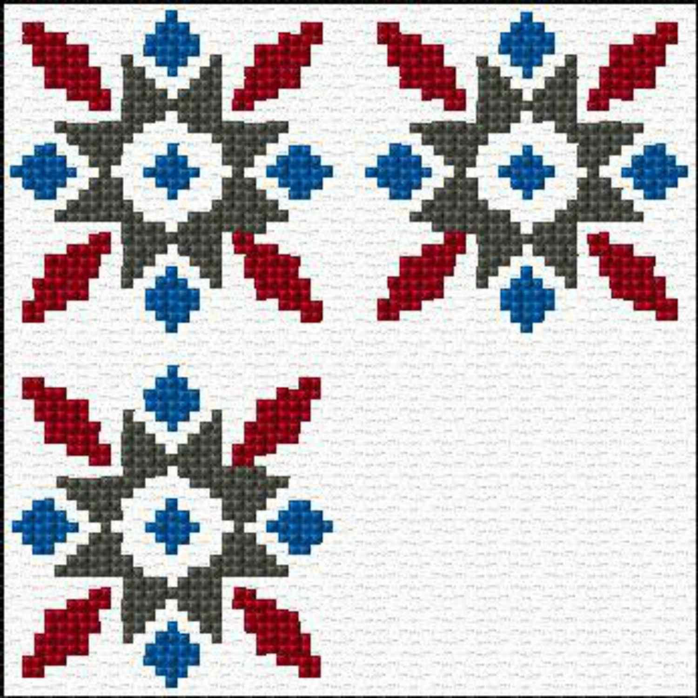 Star geometric pattern