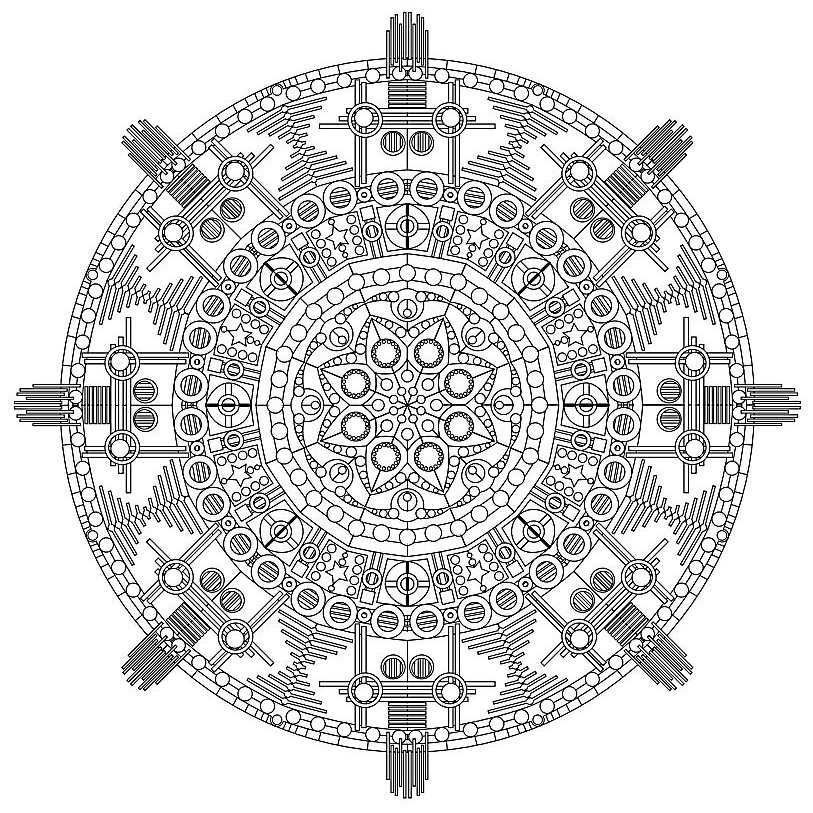 - Free, Printable Mandala Coloring Pages For Adults
