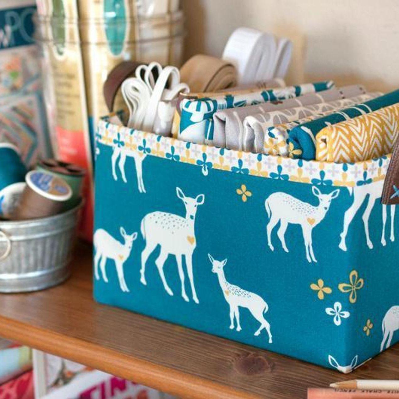 15 Creative Fabric Storage Ideas