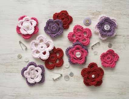17 Free Crochet Flower Patterns