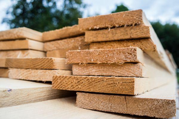 wooden planks lumber industry