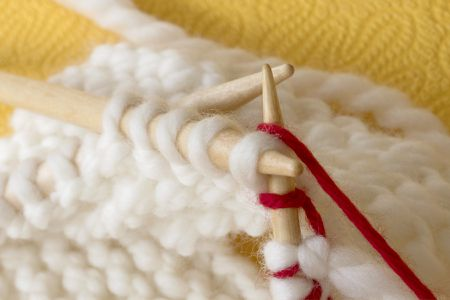 A Free Knitting Pattern For A Baby Santa Hat