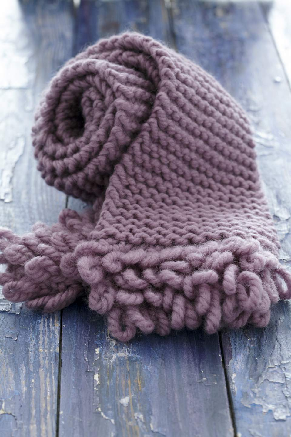 Make a Scarf With Some of the Bulky Yarn in Your Stash