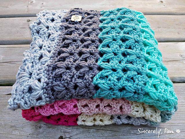 Victoria Blanket Crochet Pattern