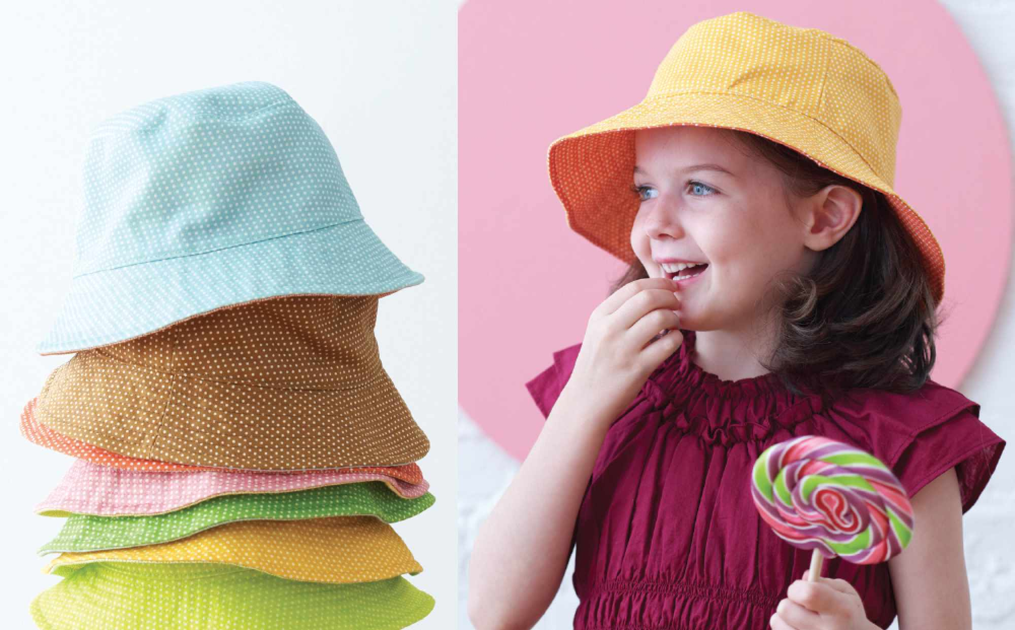 Children s Reversible Bucket Hat Sewing Pattern 5a7eb8eb2ca9