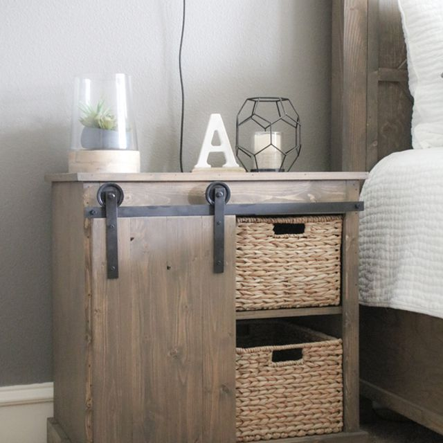 Amazing 15 Diy Nightstand Plans That Are Completely Free Home Interior And Landscaping Spoatsignezvosmurscom