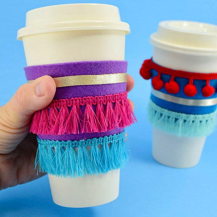 Hot drink sleeve