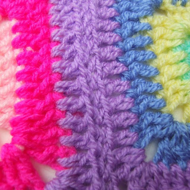 Invisible Crochet Joining