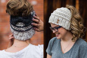 Women Girl Boy Kids Baby Hats Knitted Knitting Keep Warm Hat Family Style Beauty