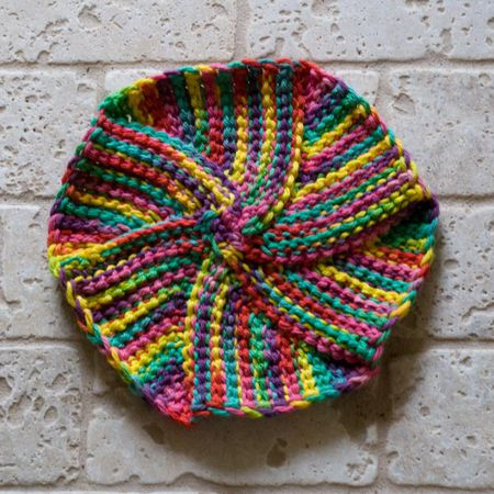 Tunisian Crochet In The Round Videos