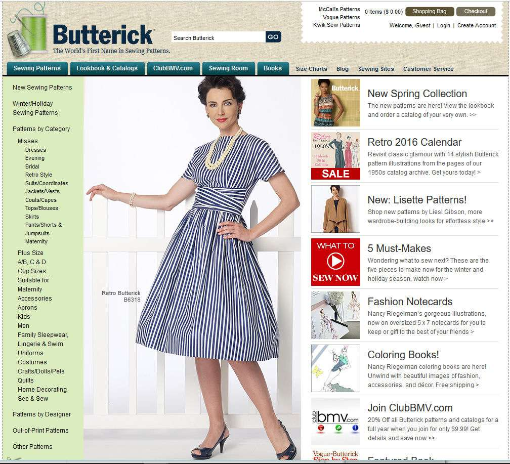 Resources for Locating Discontinued Sewing Patterns