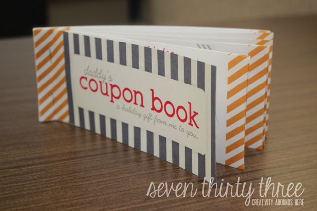 13 Free Printable Fathers Day Coupon Books