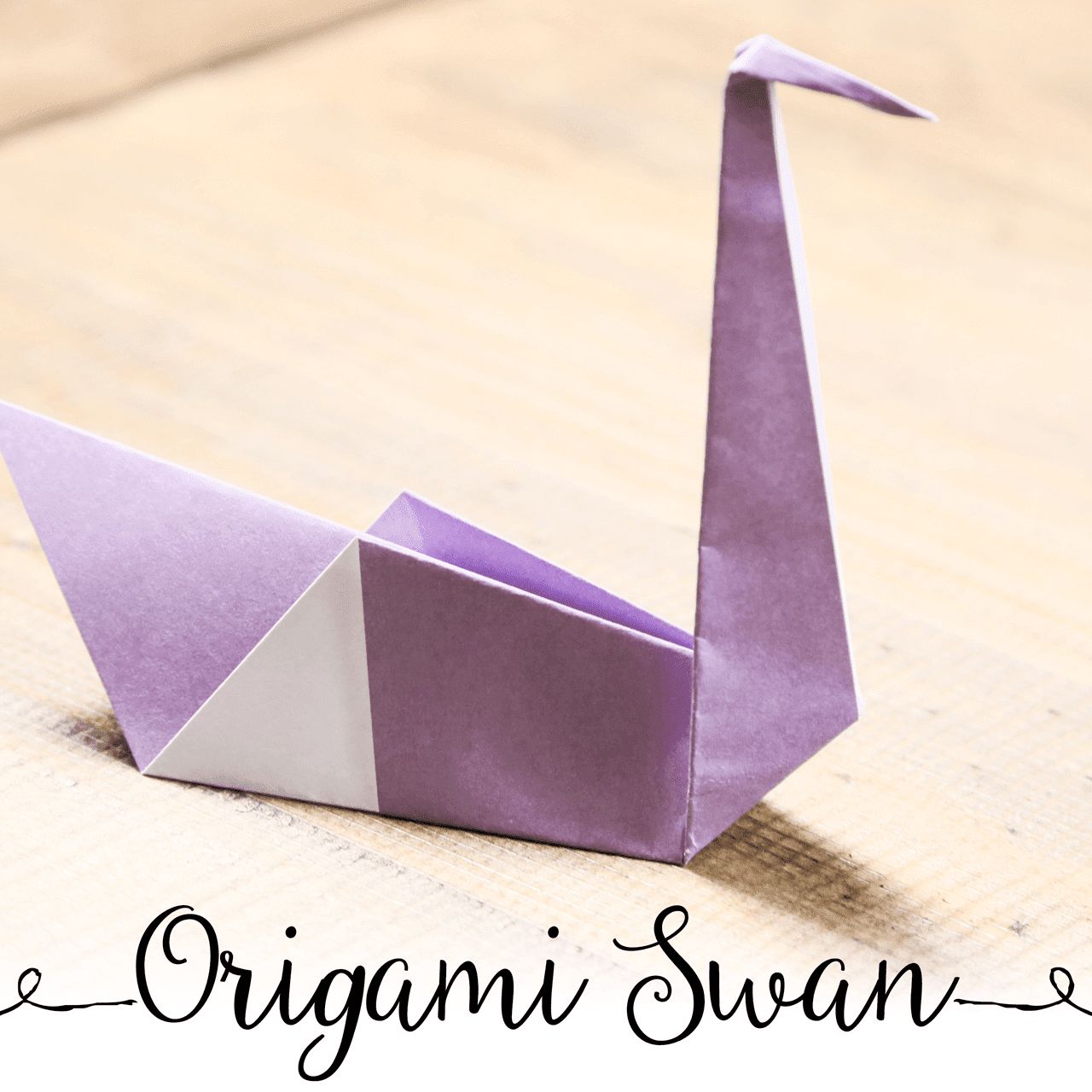 Origami Napkin Folding Swan - YouTube   1280x1280