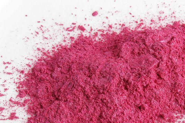 Pink mica pigment powder