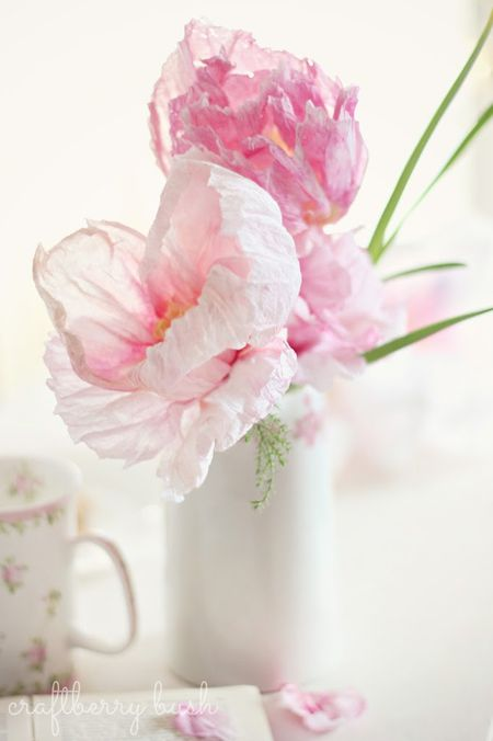 28 fun and easy to make paper flower projects you can make crepe paper and watercolor flower mightylinksfo