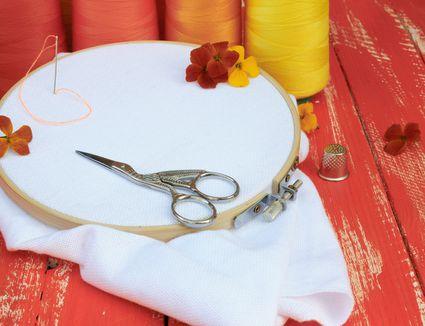 Unique embroidery scissors