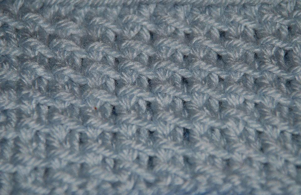 A close-up of a bamboo stitch