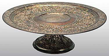 Derby Silver Plate Company Cake Stand