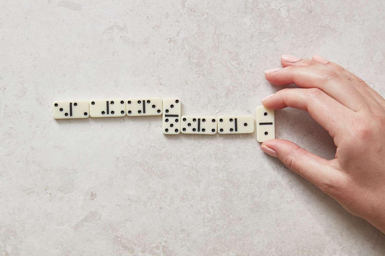 double tiles in dominoes