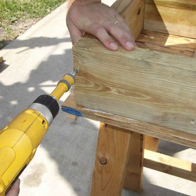 Building Table Support Boxes