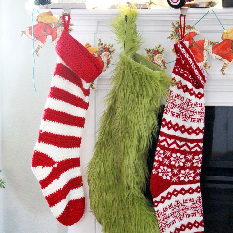 Fuzzy Stocking