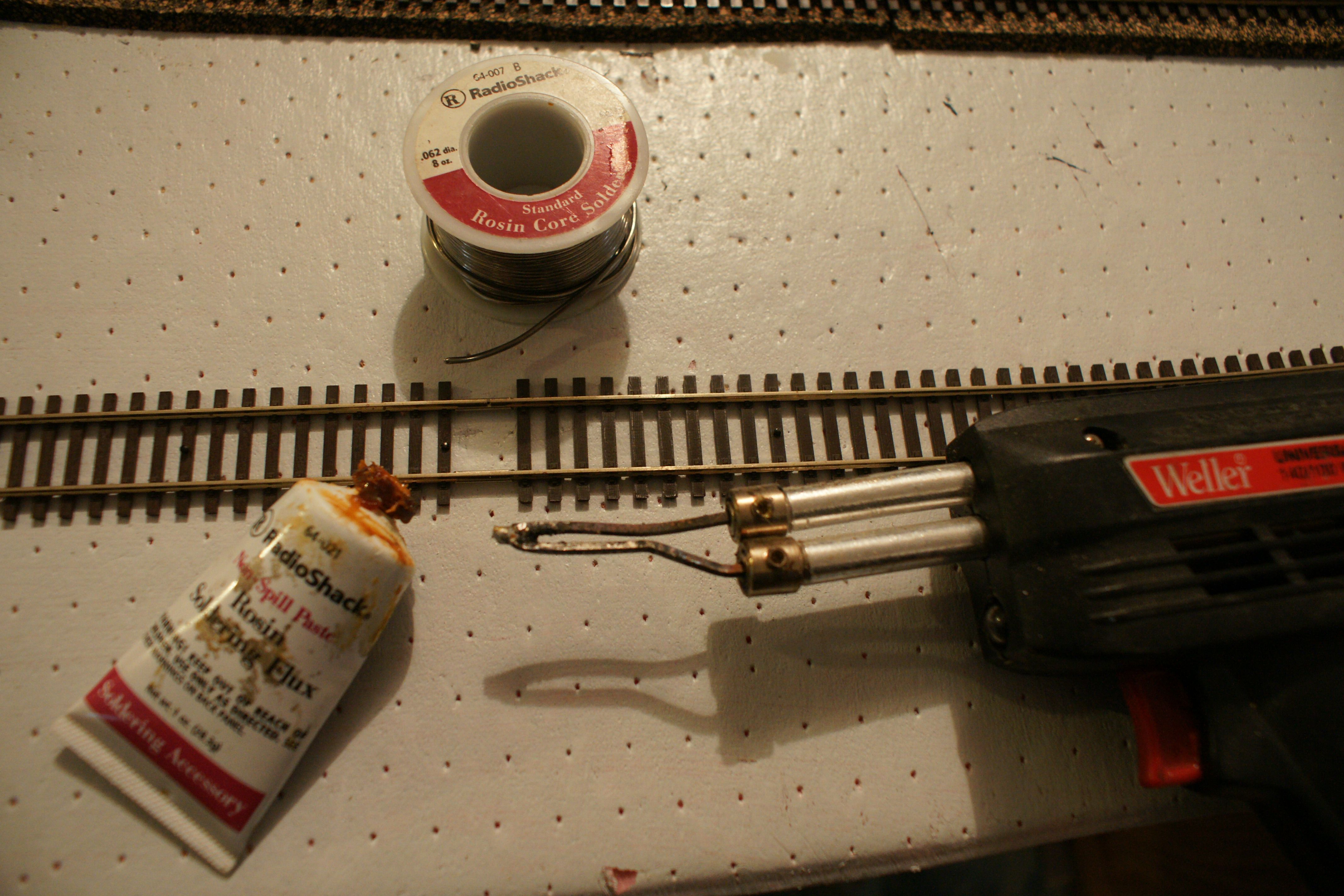 Introduction To Soldering For Model Railroad Trains Wiring Blocks
