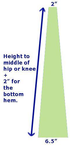 How to make Bell Bottom Pants