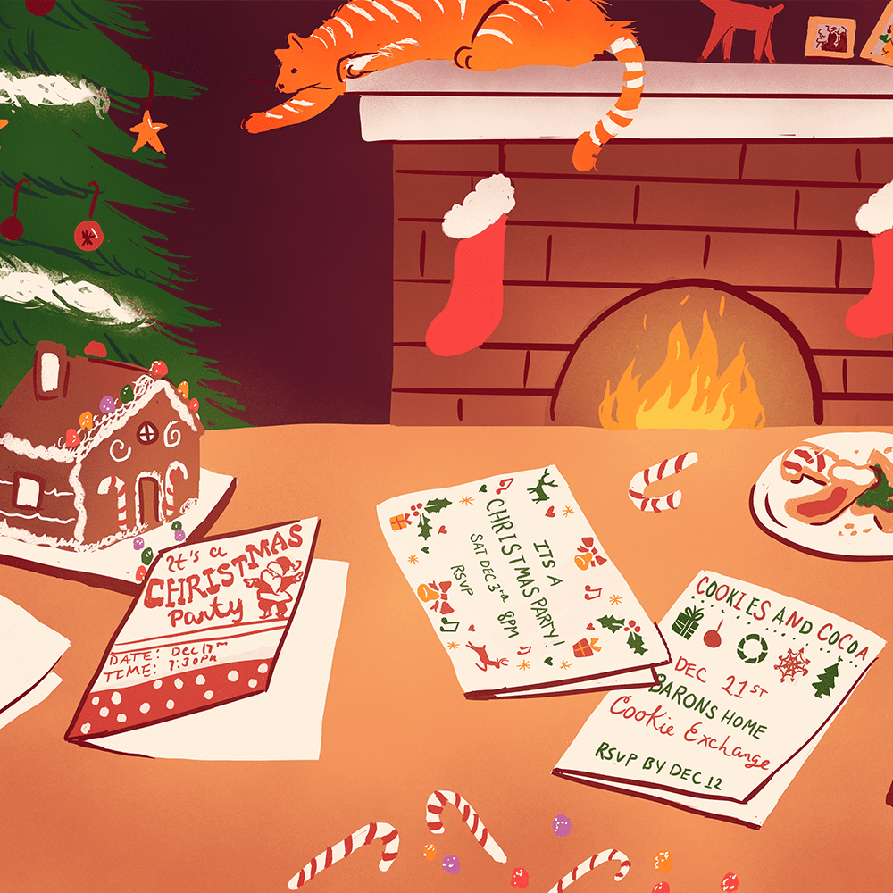 13 Free Christmas Party Invitations That You Can Print
