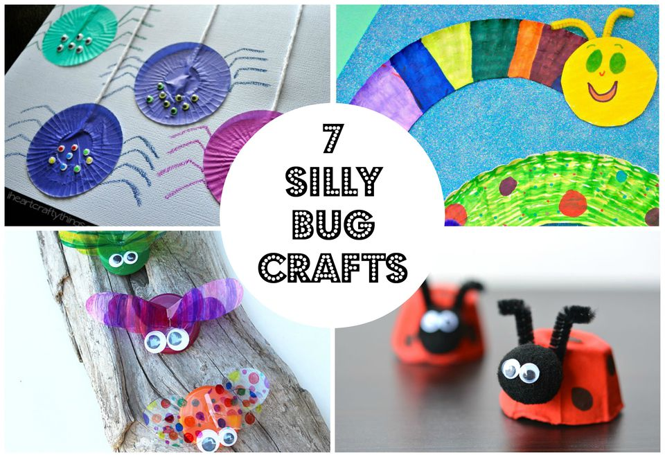 7 Silly Bug Crafts